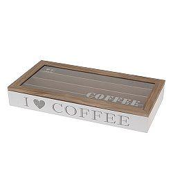 Orion Box drevený na kapsuly Coffee