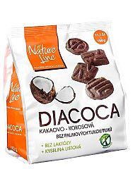 Pečivárne liptovský hrádok diacoca kakaovo - kokosové sušienky 180g