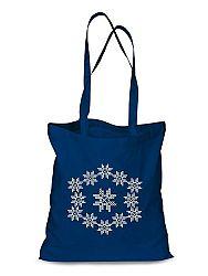 Plátená EKOlogická taška výšivka 09 - dlhá rúčka