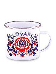 Plechový hrnček Slovakia kvet 1