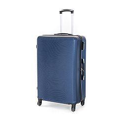 Pretty UP Cestovný škrupinový kufor ABS03 L, modrá
