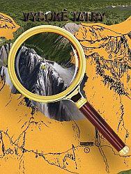 Stieracia mapa Vysoké Tatry - zlatá