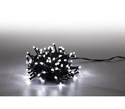 Svetelná reťaz 100 LED- studená biela- 8 funkcií