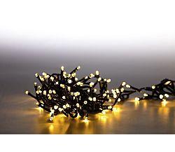 Svetelná reťaz 200 LED dvojitá - teplá biela