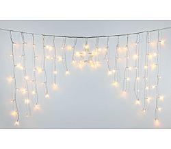 Svetelný záves s hviezdou 80 LED