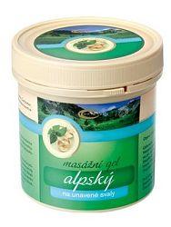 Topvet alpský masážny gel - na unavené svaly 250ml