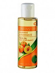 Topvet broskyňový pleťový olej 100% s vitamínom E 100ml