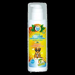 Topvet Detské opaľovacie mlieko SPF 30, 200 ml