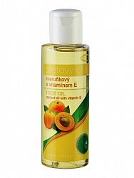 Topvet marhuľový pleťový olej 100% s vitamínom E 100ml