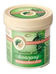 Topvet masážny konopný gel - pre zdravú pokožku 250ml
