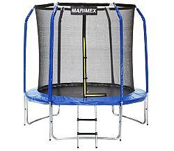 Trampolína Marimex 244 cm + ochranná sieť + schodíky ZDARMA