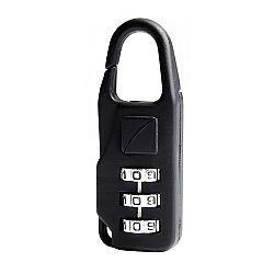TravelBlue Bezpečnostný cestovný zámok na batožinu kovový bez kľúčov na kombináciu TBU034