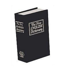 Trezor Kniha 18 x 11,5 x 5,4 cm, čierna