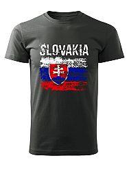 Tričko Slovakia vlajka