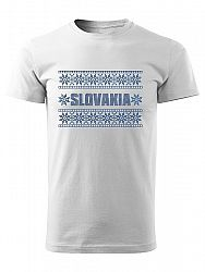 Tričko slovakia výšivka