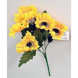 Umelá kytica Slnečnica žltá, 37 cm
