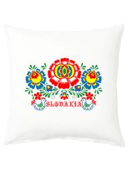 Vankúš Slovensko kvety 40x40 cm