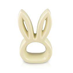 Veľkonočná keramická ozdoba Hlava zajačika, 14 cm