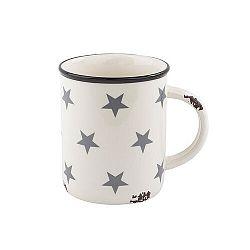 Veľký keramický hrnček Hviezdy, 750 ml