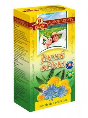 Agrokarpaty jarná očista bylinný čaj 20x2g