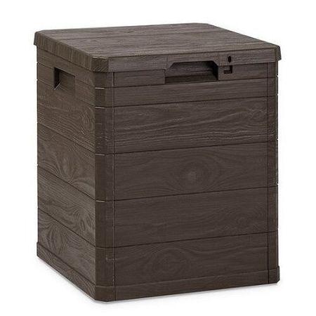 Aldo Úložný box na podušky Woody hnedá, 90 l