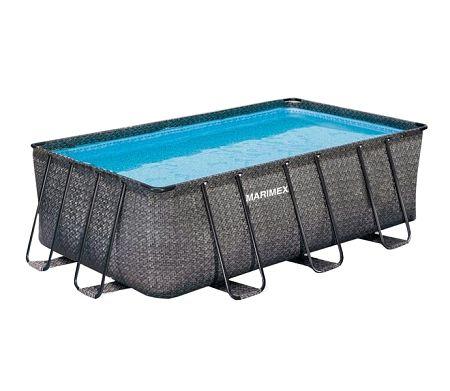 Bazén Florida Premium 2,15 x 4,00 x 1,22 m bez príslušenstva - motív RATAN