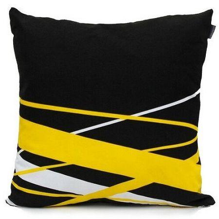 Domarex Obliečka na vankúš Yellow Space Love