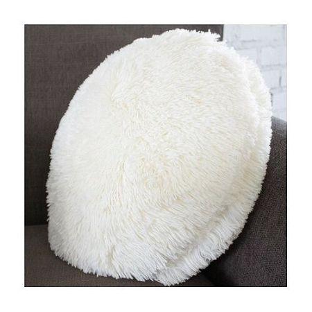 Domarex Vankúš okrúhly Queen biela, 50 cm