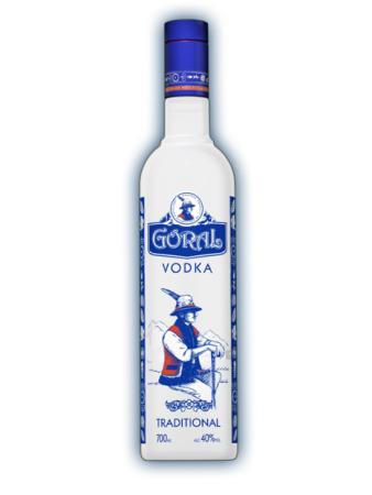 Goral traditional vodka 40% 0,7l