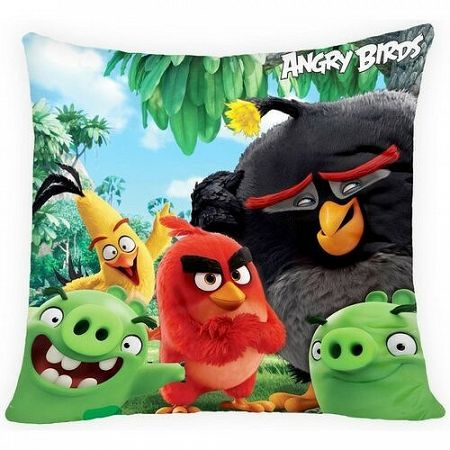 Halantex Vankúšik Angry Birds movie, 40 x 40 cm