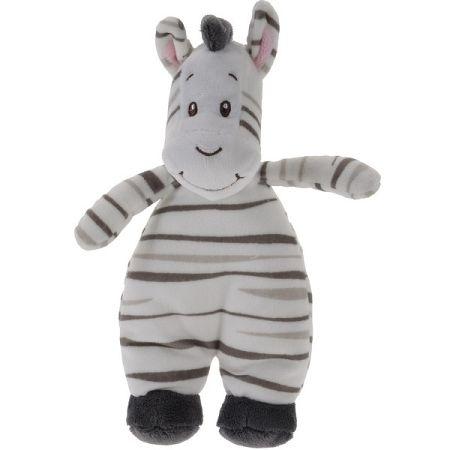 Koopman Plyšová zebra biela, 20 x 13 cm