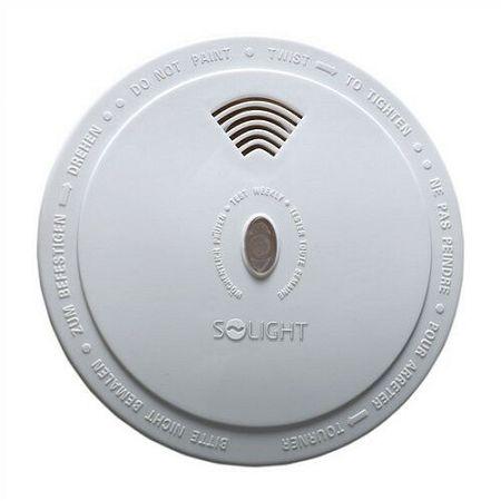 Solight detektor spalín CO, 85dB, biely