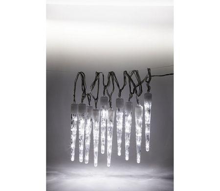 Svietiace cencúle 100 LED