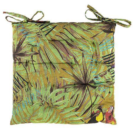 Trade Concept Sedák Leaves prešívaný, 40 x 40 cm